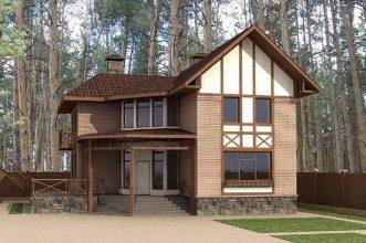 Дом в скандинавском стиле 00-49