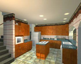 Двухэтажный дом - Home project Residence