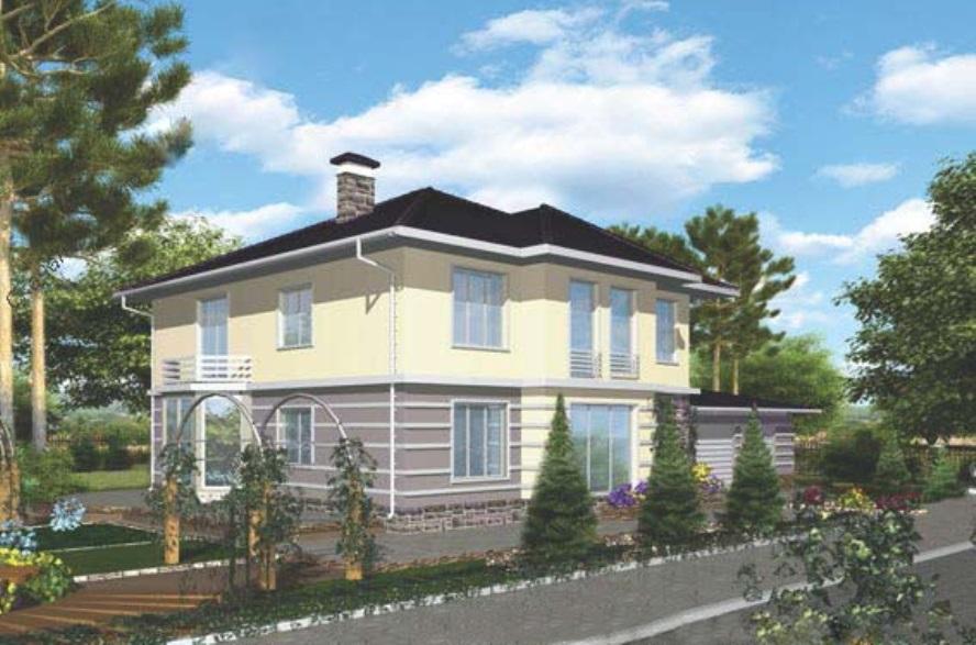 2- х этажный жилой дом 00-62