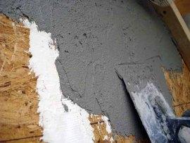 Оштукатуривание плит ОСП (OSB)