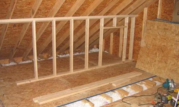 OSB3 (ОСП3) панелей: укладка материала на пол, стены и крышу