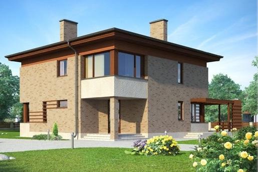 Индивидуальный проект дома RS-003-0(R)