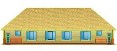 Недорогой дом на две семьи 00-68