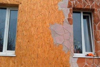 Штукатурка мокрый фасад по утеплителю